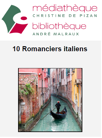202012 MDQ ADU thematique 10 Romanciers italiens couv